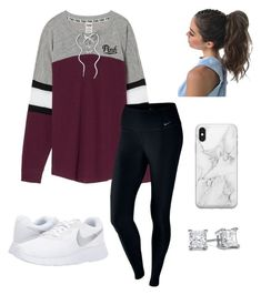 *24 by @kkayyllee on Polyvore & Pinterest featuring polyvore, fashion, style, NIKE, Recover and clothing