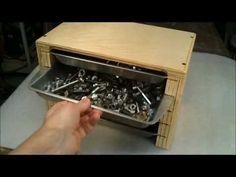 Baking pan sorting tray cabinet - YouTube