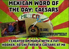 Mexican word of the day Mexican Word Of Day, Mexican Words, Word Of The Day, Stupid Jokes, Funny Jokes, Funny Me, Funny Stuff, Mexican Memes, Memes Mexicanos