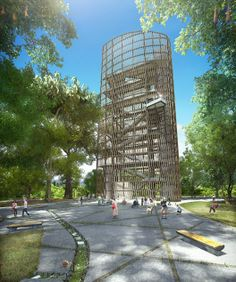 Torre Mirador. Image Cortesía de Obraestudio + Riqueza