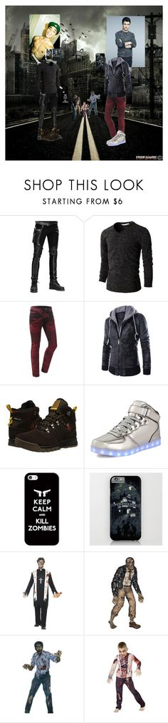 """""""Zane and Jeremiah"""" by finalfantasyforever ❤ liked on Polyvore featuring Love Always, Salomon, Casetify, WALL and CO"""