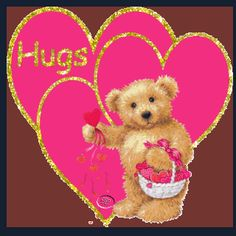 animated hugs and kisses | more teddy bear comments cute bears