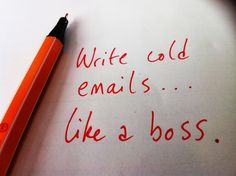 What's a cold email, you ask? It's a cold call, except using email. So what makes a perfect cold email?For our purposes, it's an email that gets a