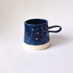 Midnight+Sky+Mug+with+GOLD+In+Stock+by+paperandclaystudio+on+Etsy,+$64.00