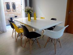 Distância Certa entre mesas e cadeiras