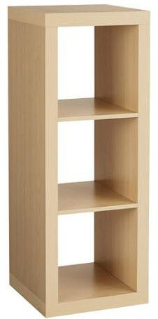 Better Homes and Gardens 3-Cube Organizer Storage Bookshelf - Multiple Colors