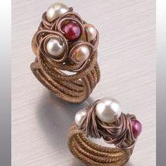 efco-freizeit-engel.de Ring-Vintage mit Wachsperlen | Schmuck ...