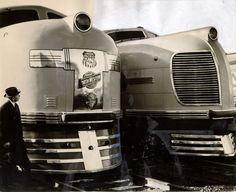 Streamlined Union Pacifics