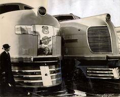 """City of San Francisco"", train,1938 photo, San Francisco Historical Photograph Collection."
