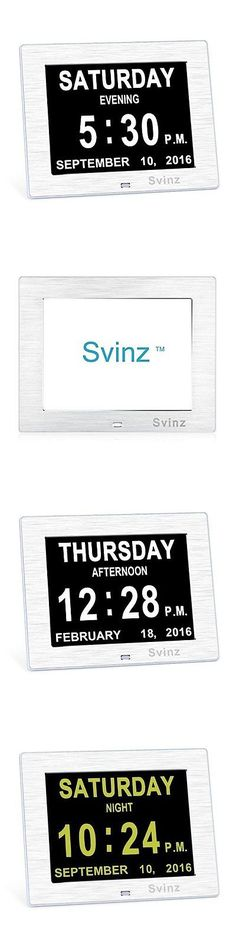 Alarm Clocks 79643: New Upgraded Svinz Memory Loss Day Clock Digital Calendar Extra Large -> BUY IT NOW ONLY: $64.37 on eBay!