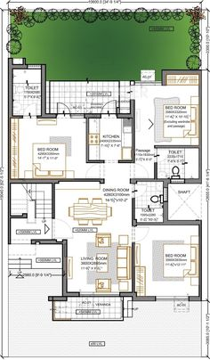 Bungalow Floor Plans, Modern House Floor Plans, Home Design Floor Plans, Apartment Floor Plans, Bungalow House Design, Contemporary House Plans, Small House Design, House Plans Mansion, Duplex House Plans