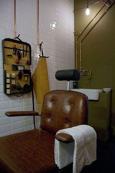 Cool barbershop