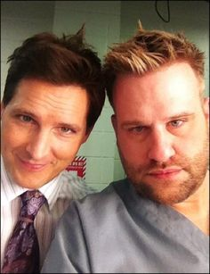 Everyone on Nurse Jackie is hilarious!!! These two are hysterically funny......never a dull moment.