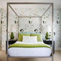 Metal Parsons Bed, Transitional, bedroom, Lichten Craig Architects