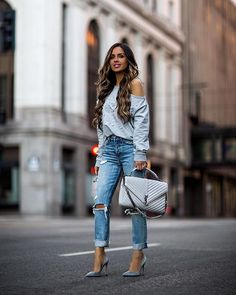 """881106428459a Maria Vizuete (Mia Mia Mine) on Instagram: """"Casual chic today. // Outfit  details linked in my bio. @revolve"""""""