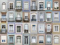 Photography by André Gonçalves ...  Windows inAndré's hometown of Lisbon, on the other hand, feature much more prominent patterns in a variety of shapes