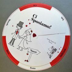 Partecipazione originale the circle of love