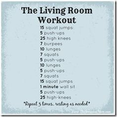 Guest Post: 30-Rep Home Workout - The Seasoned Mom