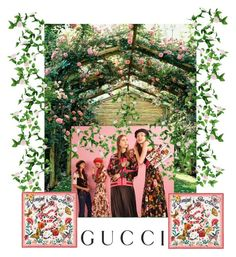 """""""Presenting the Gucci Garden Exclusive Collection: Contest Entry"""" by missyra on Polyvore featuring Gucci and gucci"""
