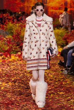 outfit inspiration from Moncler Gamme Rouge FW 2017-2018