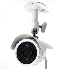 Masione Outdoor SONY CCD Night Vision Bullet Security Camera Weatherproof Wide Angle Surveillance CCTV | Good Camera Brands Video Surveillance Cameras, Security Surveillance, Surveillance System, Security Camera, Home Cctv, Night Video, Video Security, Best Camera, Wide Angle