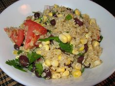Aztec Quinoa Salad by Kevin - Closet Cooking