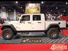 Cool cool 4-door!   March 2012 Drivelines Jeep Wrangler Double Cab Truck