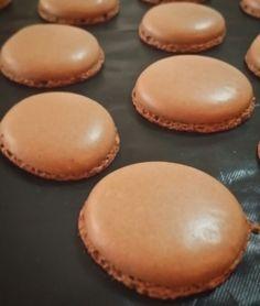 Deliziosi macarones al cacao