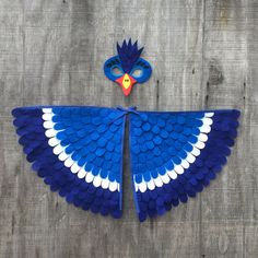 ZAZU inspired costume // Soft and Flappable // Mask by TreeAndVine                                                                                                                                                                                 More