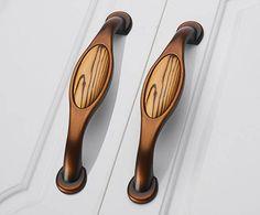 5''Antique wood grain-Dresser Pulls Drawer Pull