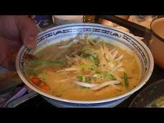 Soupe laska aux crevettes