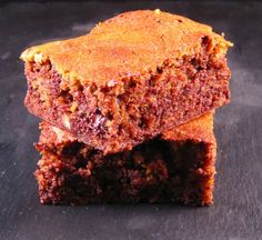 Just Bake: Chocolate and Roast Pumpkin Brownies