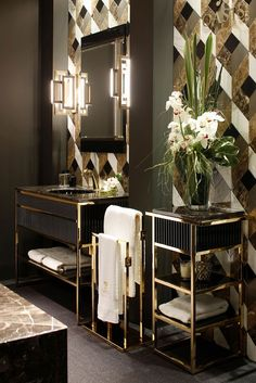 10 Best Golden Aesthetics for Your Bathroom Design_See More Inspiring Articles…