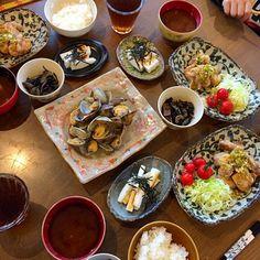 油淋鶏、あさりの酒蒸し、長芋短冊、ひじき - 12件のもぐもぐ - 晩ご飯 by natsu727