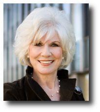 Diane Rehm, excellent talk show host, haha adrianne you are so jealous!