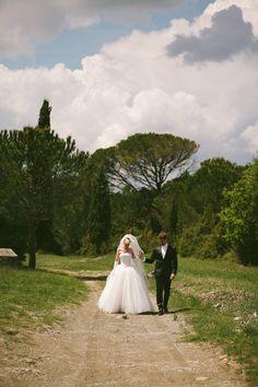 Gorgeous Destination Wedding in Tuscany, Italy
