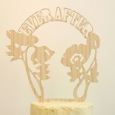 cake topper  Whimsical Wedding Decor From The Shoppe By Madeline Trait