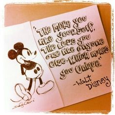 """Quotes By Walt Disney """"Animation is different from other parts. Ore most difficult job was to develop Quotes By Walt Disney Love, Disney Magic, Disney Stuff, Disney Nerd, Disney Princess, Quotable Quotes, Lyric Quotes, Pixar Quotes, True Quotes"""