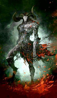 Erfiorr — Fantasy Art DimensionSci fi character art: the… Dark Fantasy Art, Fantasy Artwork, Dark Art, Demon Artwork, Monster Concept Art, Fantasy Monster, Monster Art, Dark Creatures, Mythical Creatures