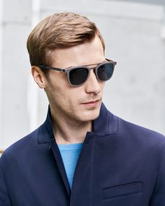 A pair of timeless Hugo Boss shades for today's classic man.