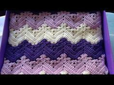 Crochet 6-Day Kid Blanket Free Pattern - YouTube                                                                                                                                                                                 More