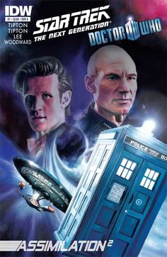 Doctor Who/Star Trek TNG Crossover... I think I need to find this and read it!