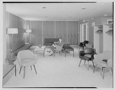 Paterson Clinic, 750 Broadway, Paterson, New Jersey. Obstetrics reception room II
