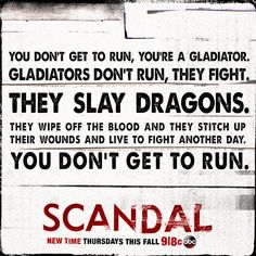 The Scandal Gladiator code.