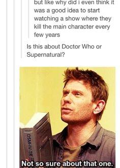 Supernatural or Dr. Who?