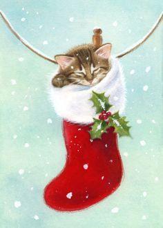 Lisa Alderson - LA - christmas kitten 1.jpg