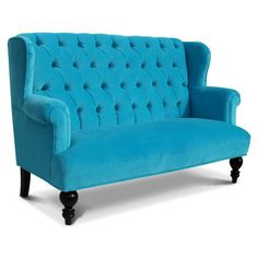 Love this couch! Boo, I just realized it's a kid sized couch! Oh well! It would be super cute in a funky play area! :)