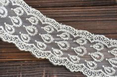 Hey, I found this really awesome Etsy listing at https://www.etsy.com/listing/161335476/gold-embroidered-lace-trim-antique-retro