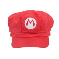 ac893eac7c6 New Version Super Mario Bros Unisex Hat Cap Mario Hat Red Luigi Hat