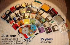 Do you remember when storage took up this much space?#retro...
